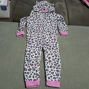 Like New Cat One Piece Pajama